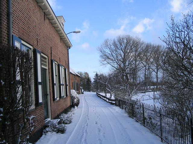 LingeBed Lingedijk winter